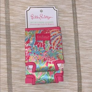 Lilly Pulitzer Set of 2 Drink Huggers